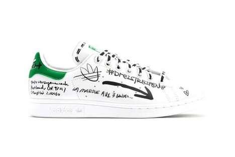 Vegan Material-Crafted Sneakers