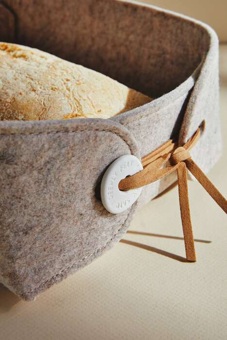 Quaint Warming Bread Baskets