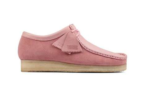 Comfort-Centric Rosy Footwear