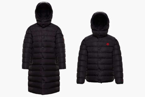 Eco-Conscious Puffer Jackets