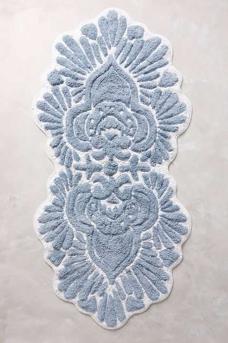 Elevated Riviera-Inspired Bath Mats