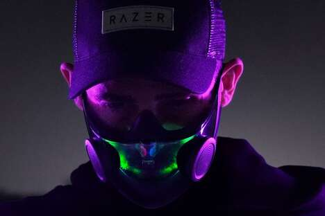 Voice-Amplifying Face Masks
