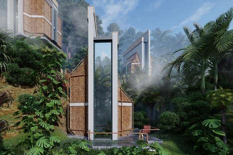 Modern Balinese Cabin Designs