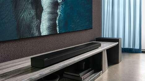 Self-Calibrating Sound Bars