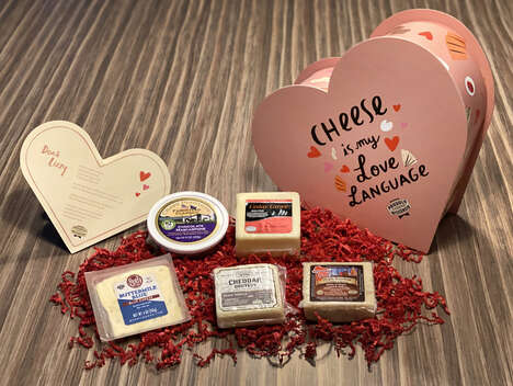 Heart-Shaped Cheese Gifts