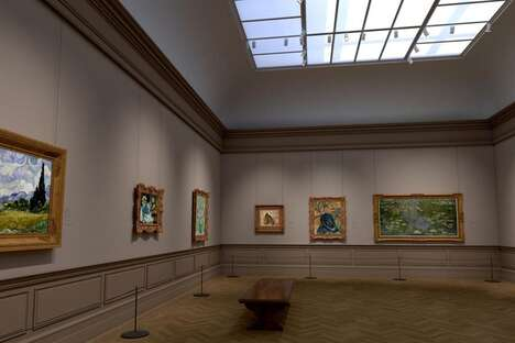 Virtual Gallery Exhibits