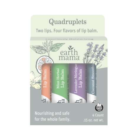 Organic Lip Balm Packs