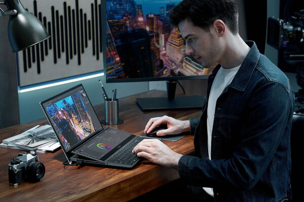 Dual-Display Content Creation Laptops