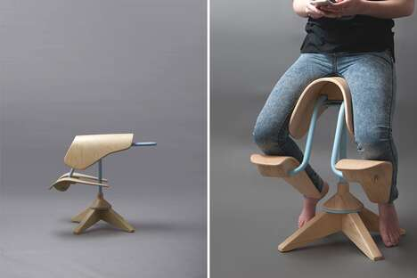 Unconventional Ergonomic Stools