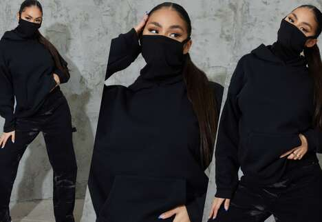 Affordable Face Mask Hoodies