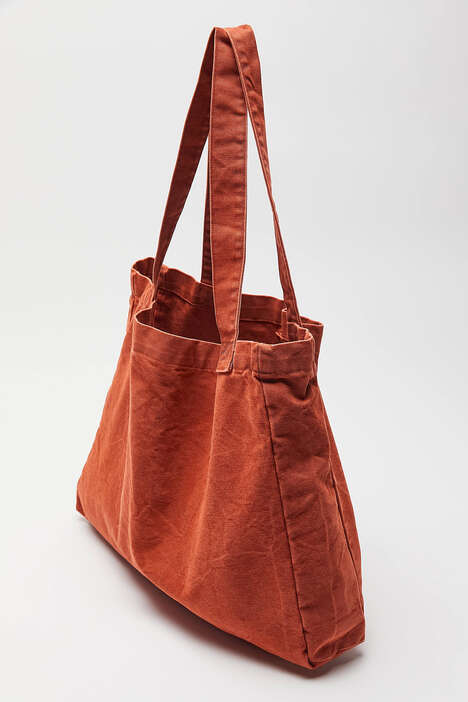 Recycled Orange Totes