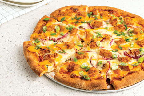Meatless Protein Pizza Toppings
