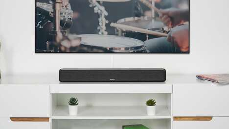 Sleek Six-Driver Sound Bars