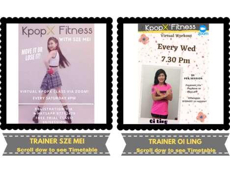 All-Ages K-Pop Fitness Platforms