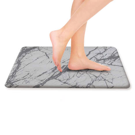 Diatomaceous Earth Bath Mats