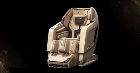 Voice-Controlled Massage Chairs