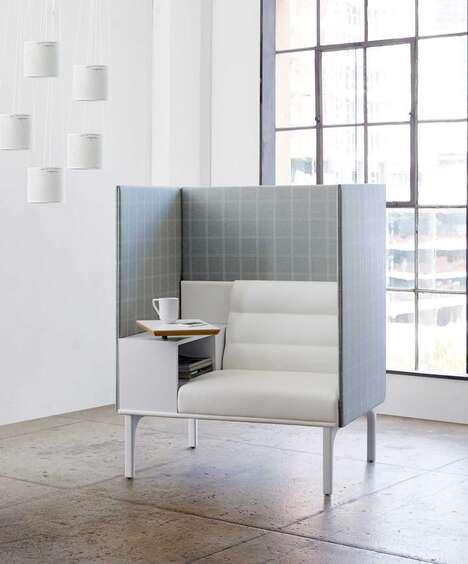 Isolation-Focused Office Furniture