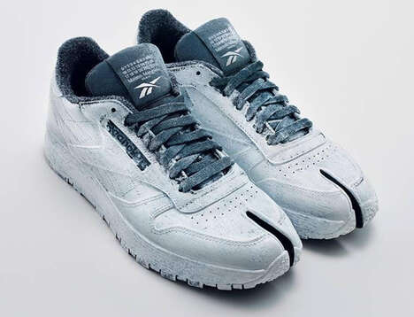 Split-Toe Sporty Sneakers