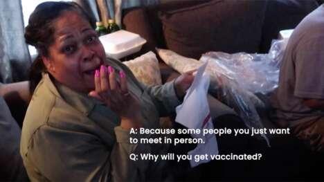 Reassuring Vaccine Ad Spots