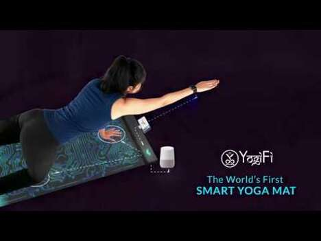 AI-Powered Interactive Yoga Mats