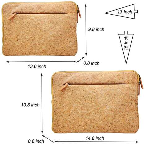 Eco-Friendly Cork Laptop Sleeves