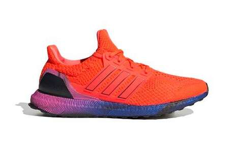 Fluorescent Gradient Tonal Sneakers