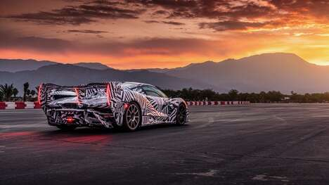 Flamboyantly Fast Supercars