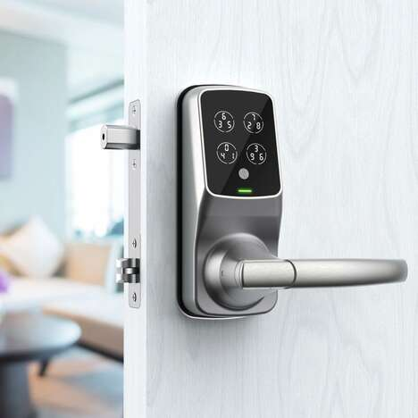 Dual-Locking Door Security Handles