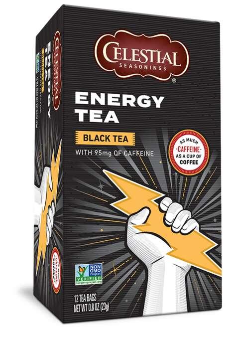 Ultra-Energizing Teas