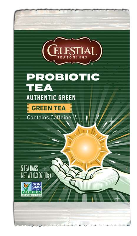 Caffeinated Probiotic Teas