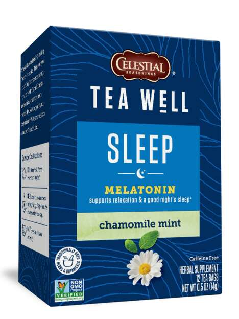 Melatonin-Enriched Herbal Teas