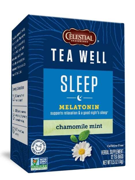 Melatonin-Enriched Herbal Teas