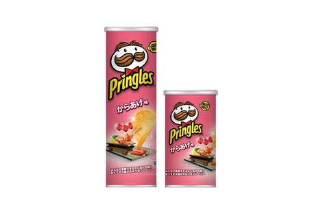 Japanese Chicken-Inspired Chips