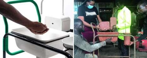 Portable Hand Washing Carts