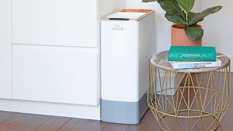 Automated Kitchen Composting Appliances - The KALEA Automatic Kitchen Composter is Eco-Friendly