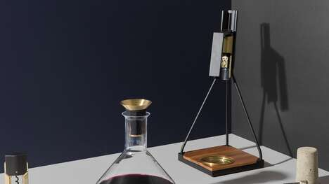 Elegant Tabletop Wine Openers