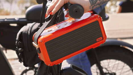 Retro-Inspired Portable Speakers - The Divoom Mocha 40W Has a 10,000mAh Battery within