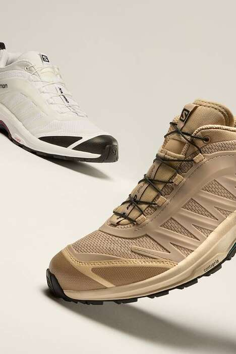 Heritage-Honoring Hiking Sneakers