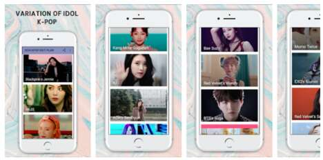 K-Pop-Inspired Diet Apps