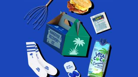 Delivered Hangover Kits