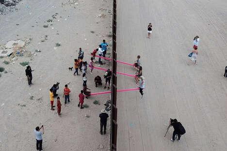Border-Balancing See-Saws