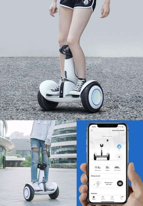 Self-Balancing Standing Scooters