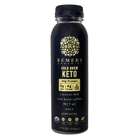 Smooth Organic Keto Cold Brews