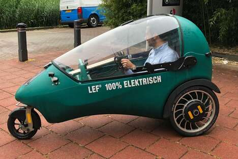 Compact Electric Three-Wheelers