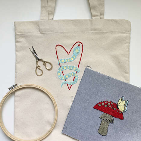 DIY Embroidery Kits