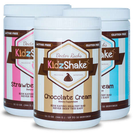 Kid-Friendly Nutritional Shakes