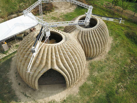 Sustainable 3D Printed Habitats