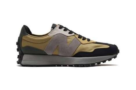 Patchwork Casual Tonal Sneakers