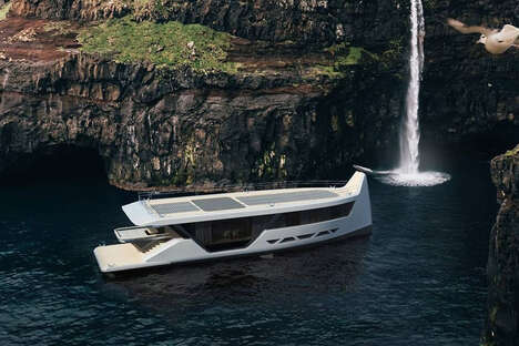 Smartphone-Controlled Yachts