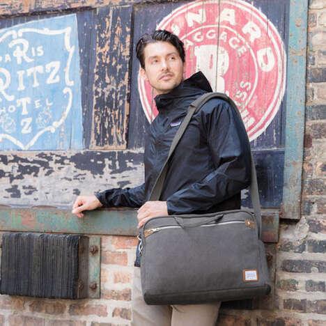 RFID-Blocking Messenger Bags